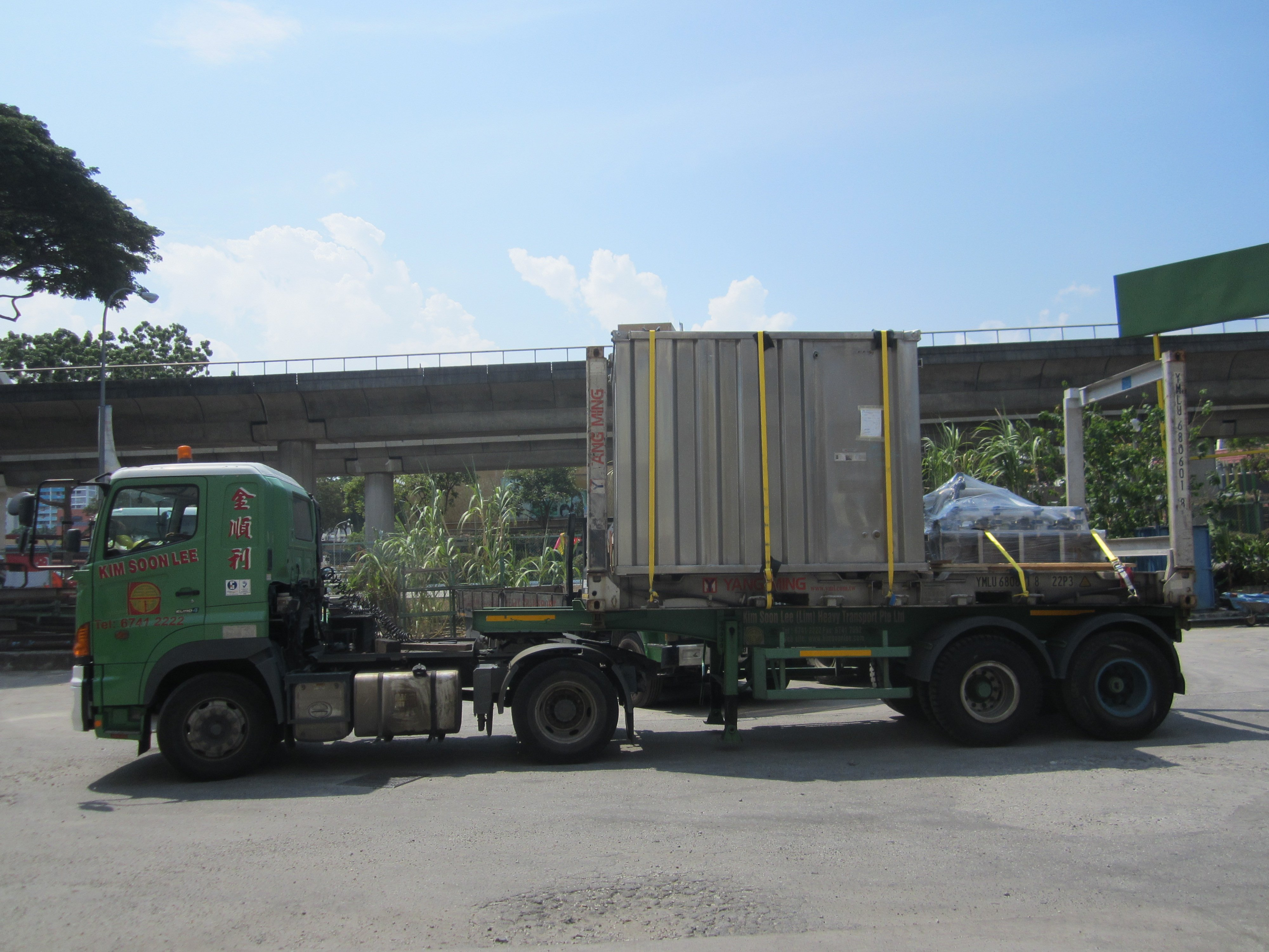 Flat Rack Container Kim Soon Lee One Stop