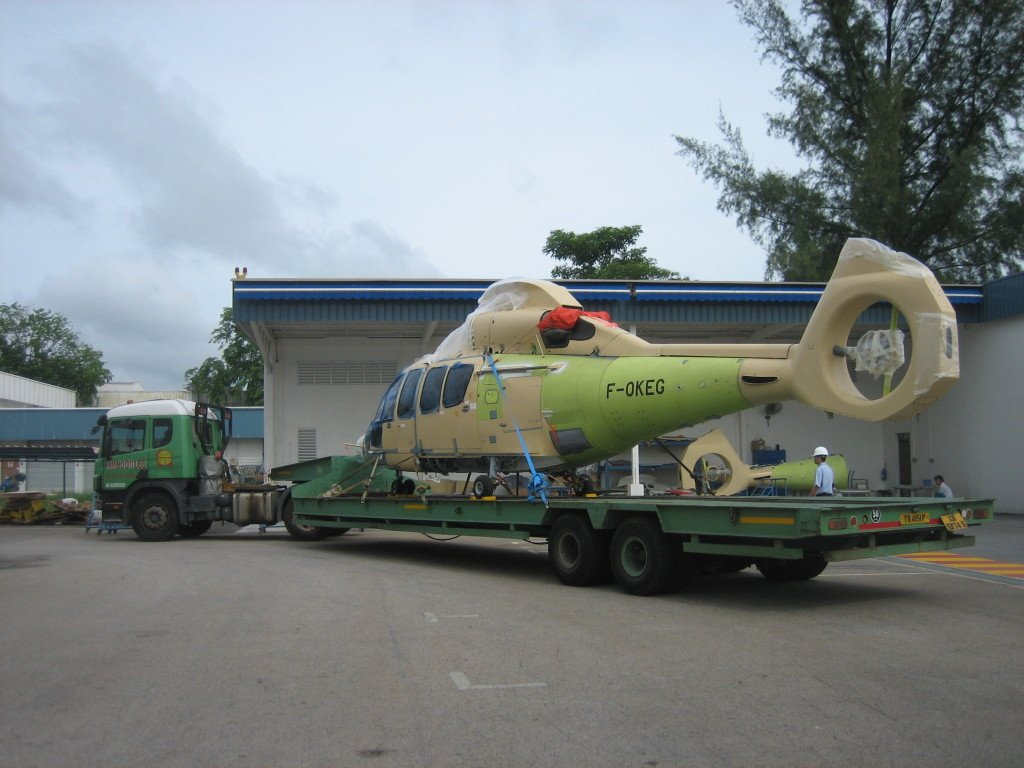 air suspension lowbed trailer