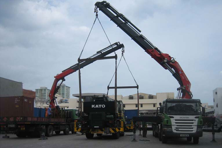 Foreseeing The Growth Of Such Form Transport In Singapore Kim Soon Lee Has Since 2002 Aggressively Expanded And Upgraded Its Lorry Crane Fleet