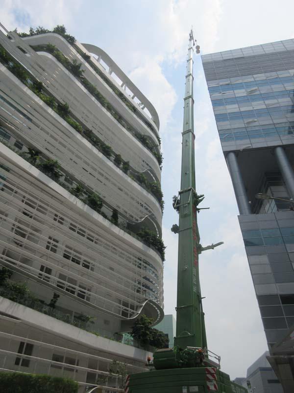 200ton mobile crane